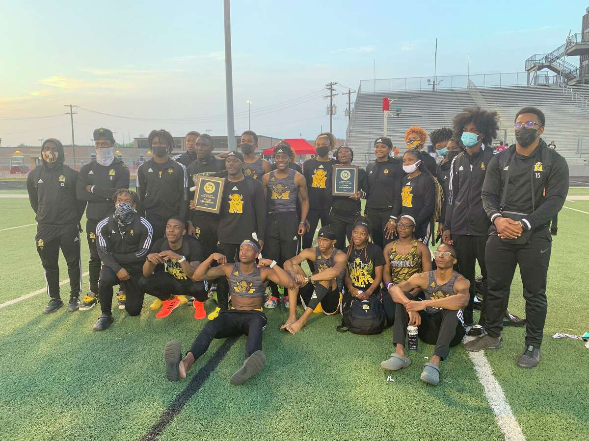 The Marshall track and field teams swept the District 24-5A championships. The Buffalos will compete at the 23-5A/24-4A area meet this week.