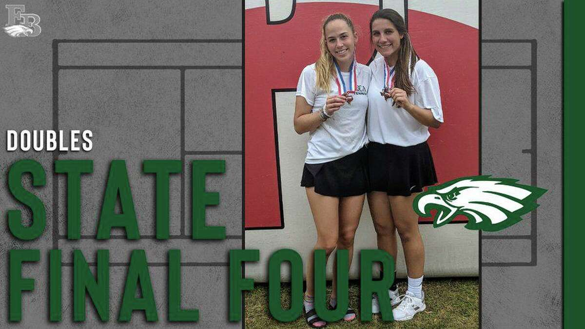 The Fort Bend Christian Academy girls doubles team of Ashley Anderson and Anna Garcia-Romanos swept their way to the TAPPS 5A state semifinals.