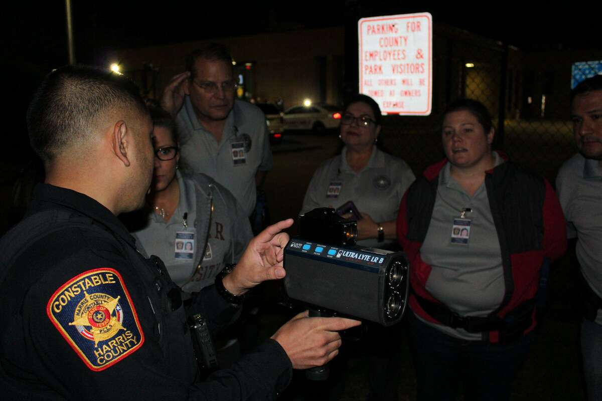 """Precinct 5 Constable Ted Heap's office will hold a """"behind the badge"""" training for people interested in what the constable's office does. The first event will be held nightly from 6 to 9 p.m. April 12-16."""