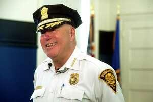 "Former Police Chief Armando ""A.J."" Perez."