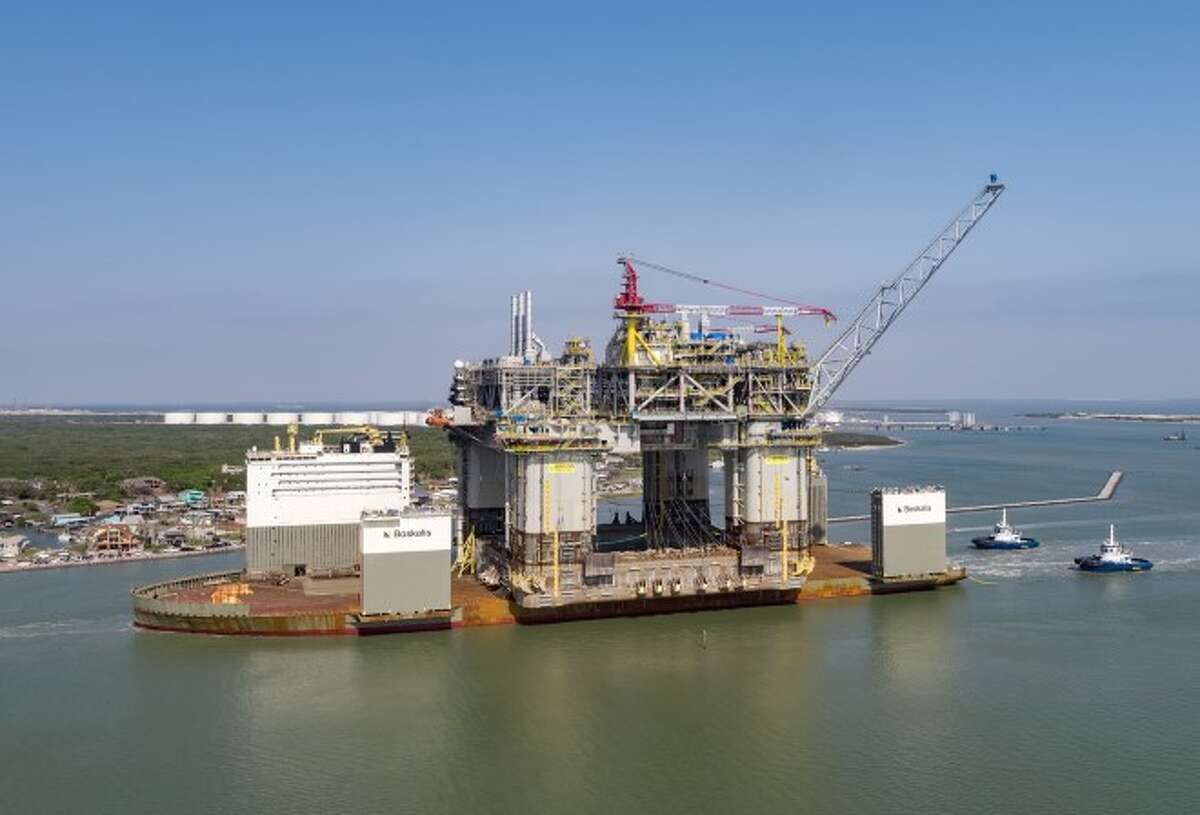Argos will be BP's fifth operating platform in the Gulf of Mexico, and the first new platform since Thunder Horse began production in 2008. Argos will be installed about 190 miles south of New Orleans, where it will operate in 4,500 feet of water. It is expected to start production in the second quarter of 2022.