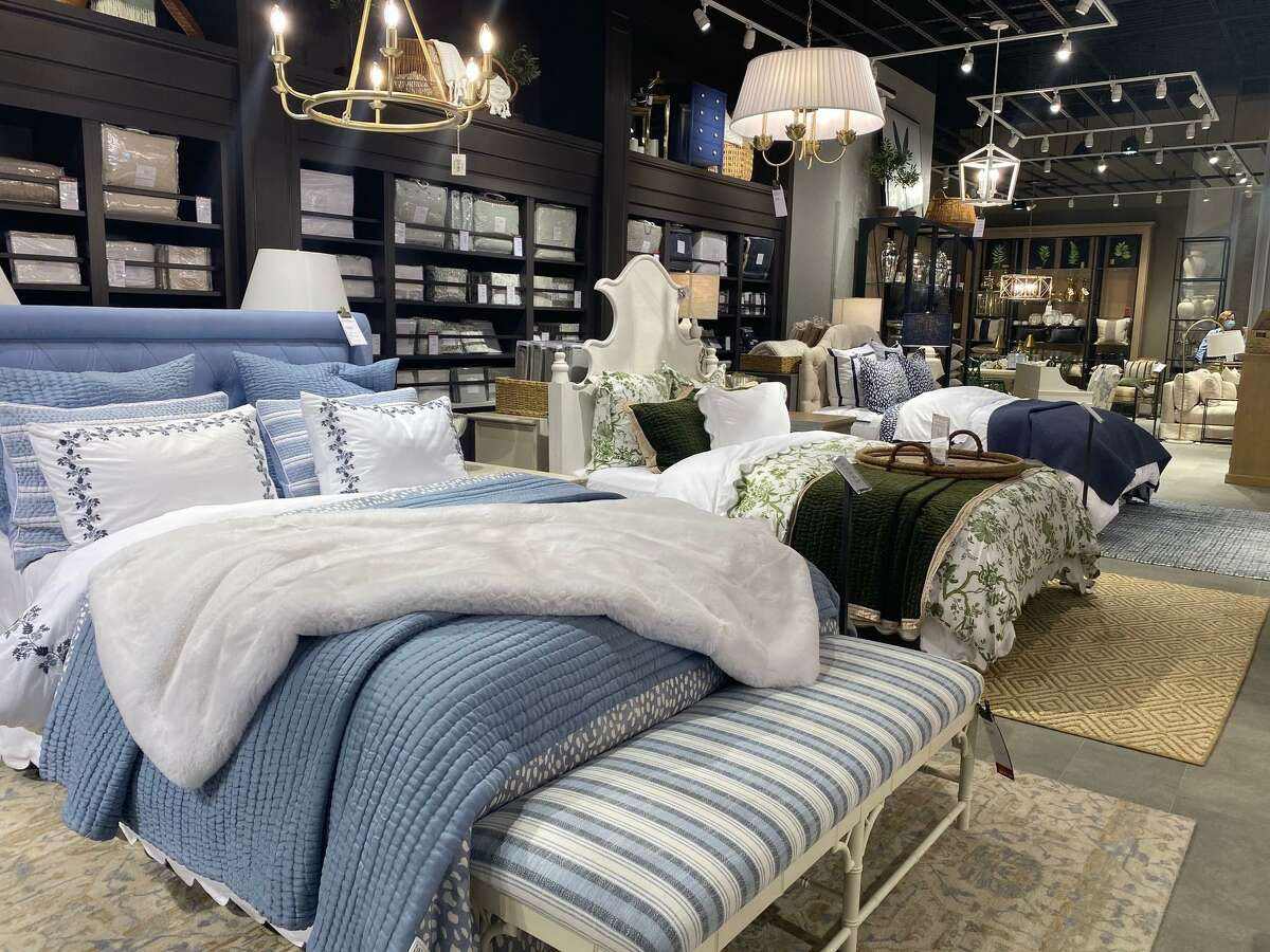 A photo from inside the new Ballard Designs home goods store on West Gray in Highland Village.