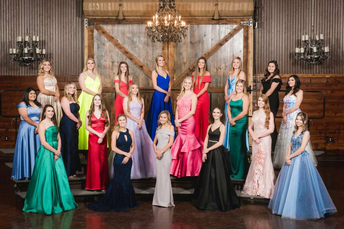 Bottom to top/left to right Front Row: Marlee Prewit, Morgan Peck, Kylie Beavers, Bailey Young, Danielle Bryden, Allison Folger Middle Row: Isabella Hart, Chase Flowers, MacKenzie Bryant, Paige Prather, Maddisyn Myers, Ashley Dickens, Mia Zertuche Back Row: Trinity Culpepper, Ainsley Smith, Natalie Smith, Madison Hansen, Olivia Hale, Addyson Foreman, Danica Pena