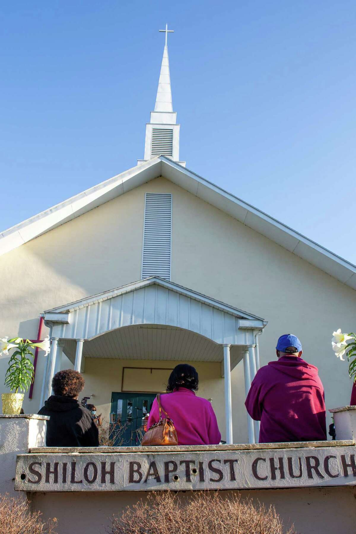 Shiloh Baptist Church, at 346 Butternut St., Middletown, held a vigil April 6 for Connecticut residents who lost their lives to COVID-19.