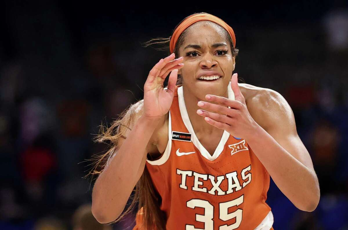 Charli Collier posted at least 20 points and 10 rebounds in 14 of 31 games for Texas this past season.