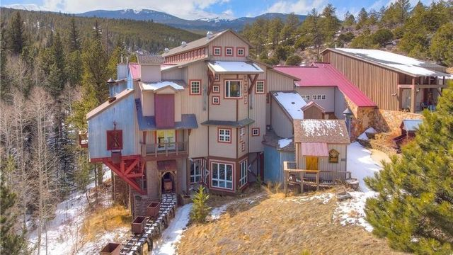 Quirky Mansion in the Colorado Mountains Comes With Its Own Mineshaft