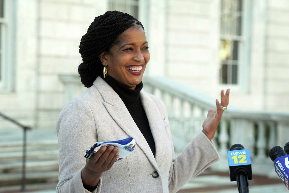 U.S. Rep. Jahana Hayes, who secured a $3 million federal grant for Danbury-based Connecticut Institute for Communities.