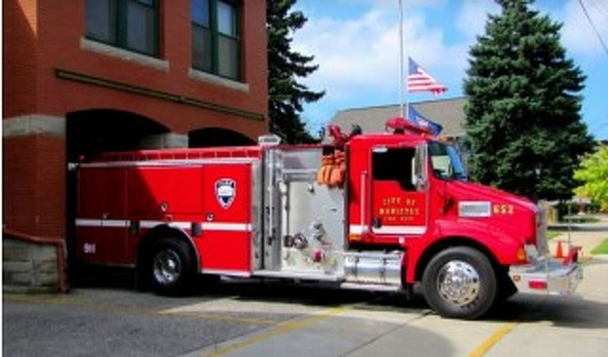 The budget recommendations for Manistee include creating a plan to replace the fire department's ladder truck, which was purchased in 1997.