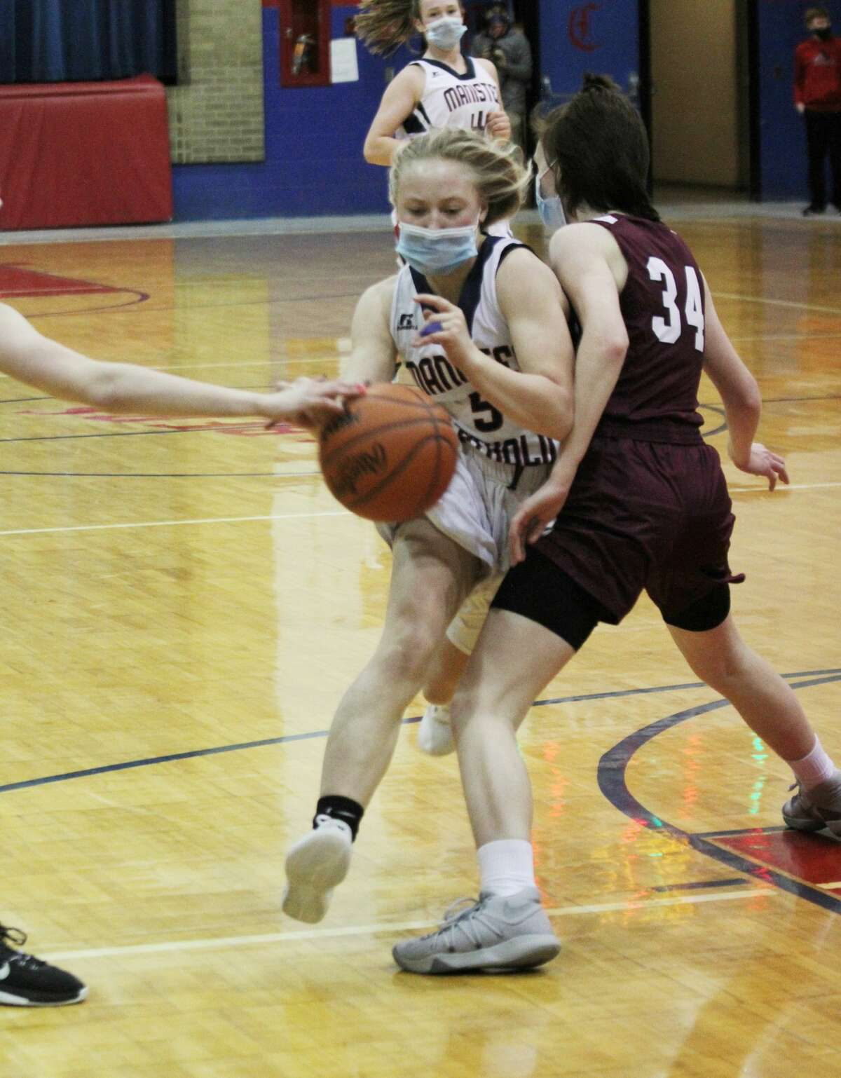 The Sabers went 4-4 in the West Michigan D League and 7-8 overall, including a Division 4 district quarterfinal win over Brethren before bowing out of the tournament with a semifinal loss to Mesick.