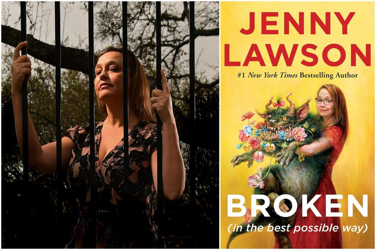 """Writer Jenny Lawson is the author of """"The Bloggess Blog"""" and is releasing a new book, """"Broken (in the best possible way)."""