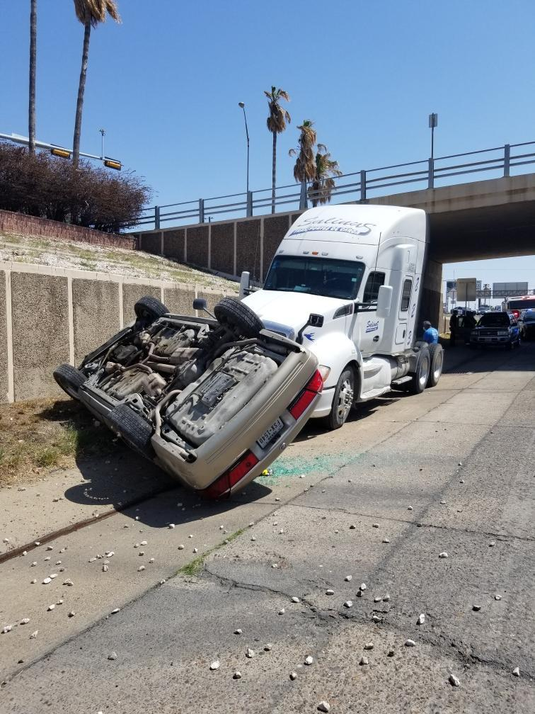 Two-vehicle crash leaves 1 in serious condition