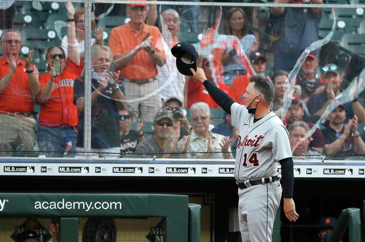 With his Tigers in tow Monday night, manager A.J. Hinch returned to Minute Maid Park for the first time since he was fired in the wake of the Astros' sign-stealing scandal.