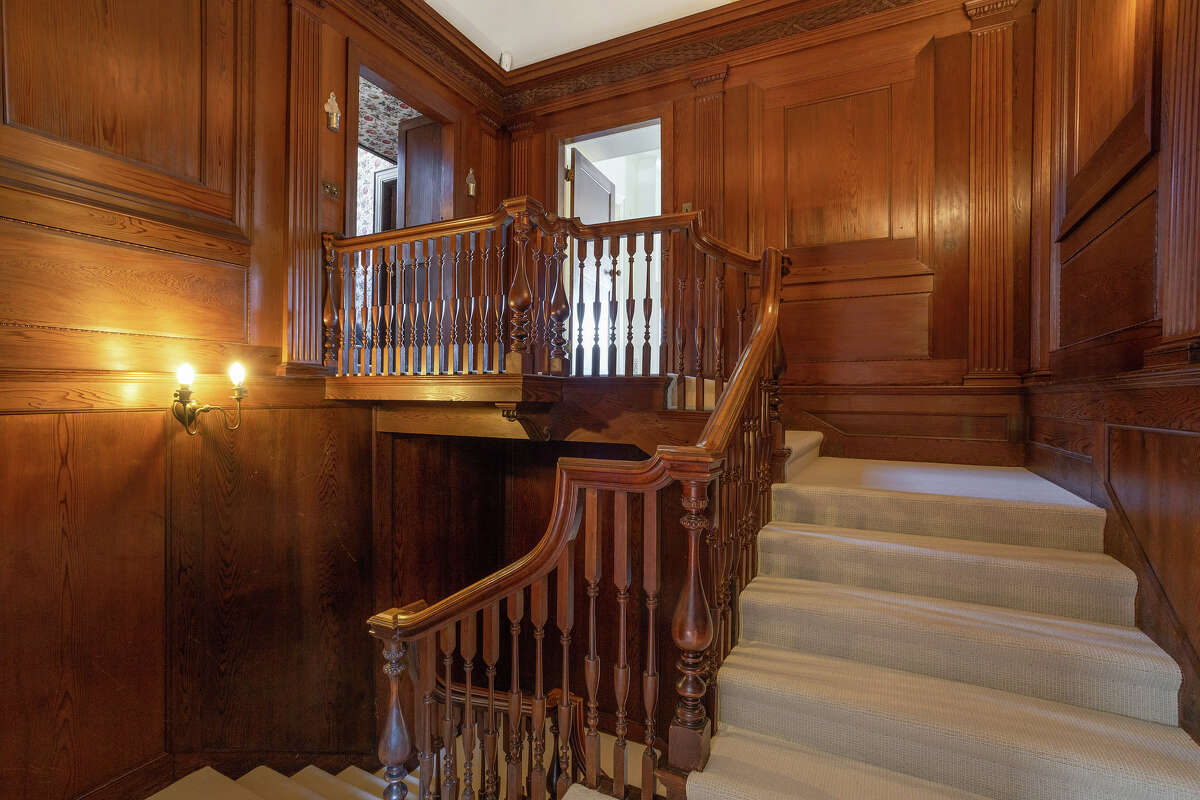 A classic Coxhead stairwell connects each level.