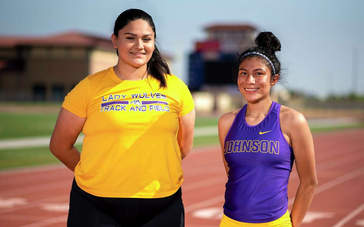 LBJ's track & field area qualifiers Viviana Osteguin and Angeles Marquez-Espinoza will compete in the area meet on Thursday at the SAC.
