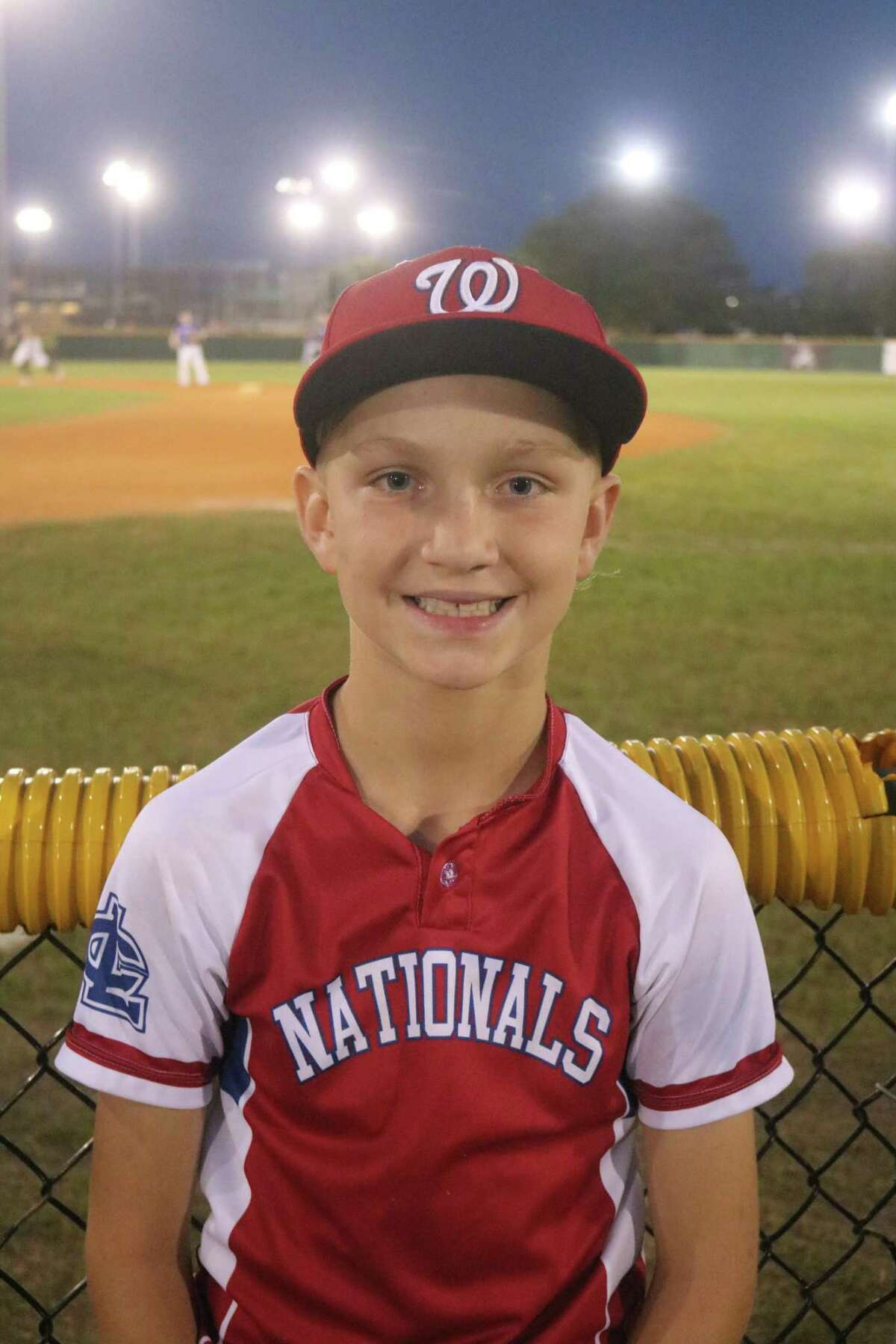 Cash Broussard was the starting and winning pitcher Monday night for a Nationals team that has found its groove at John Paul Field.