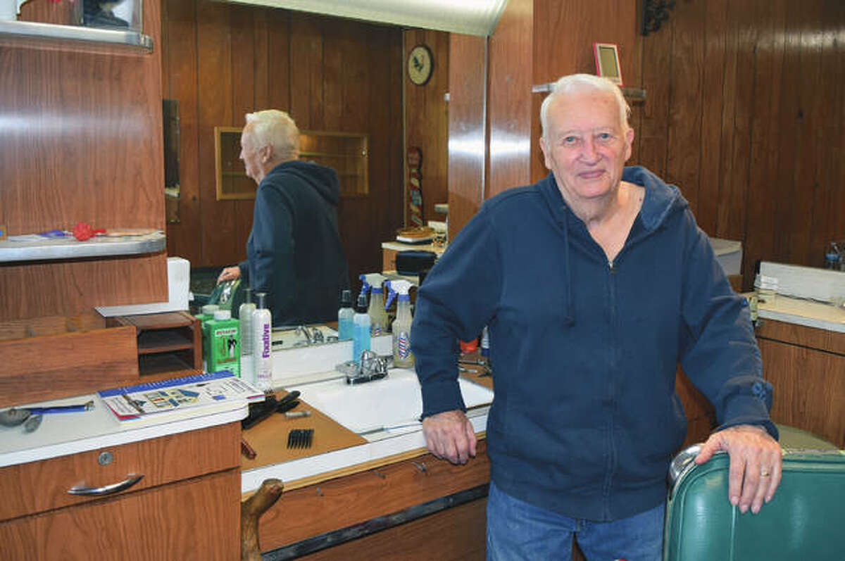 Harold Tyson, 92, has retired from being a barber in Beardstown after many decades.