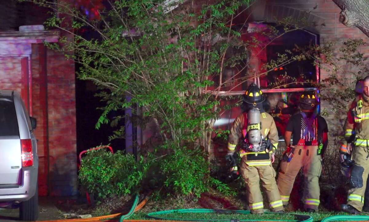 A small fire erupted at a residential care facility on April 12, 2021, in the 14200 block of Berrington Drive.