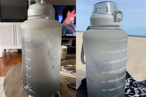 Fidus Large 1 Gallon/128oz Motivational Water Bottle , $22.99 at Amazon