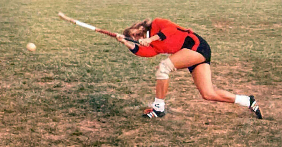 Jerri (Foehrkolb) Roush, a 1985 Edwardsville graduate, during her playing days with the EHS field hockey team.
