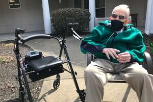 Don Black, 98, a World War II vet, said his most important takeaway from the pandemic year in nursing home isolation was gratitude.