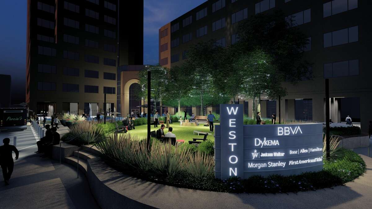 Rendering of Weston Common, scheduled to open at 112 E. Pecan Street.