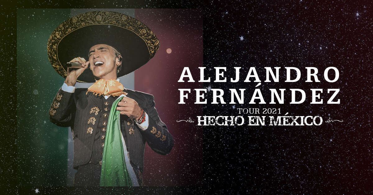 """Alejandro Fernández just announced his """"Hecho En México""""Tour, and he's coming to San Antonio."""