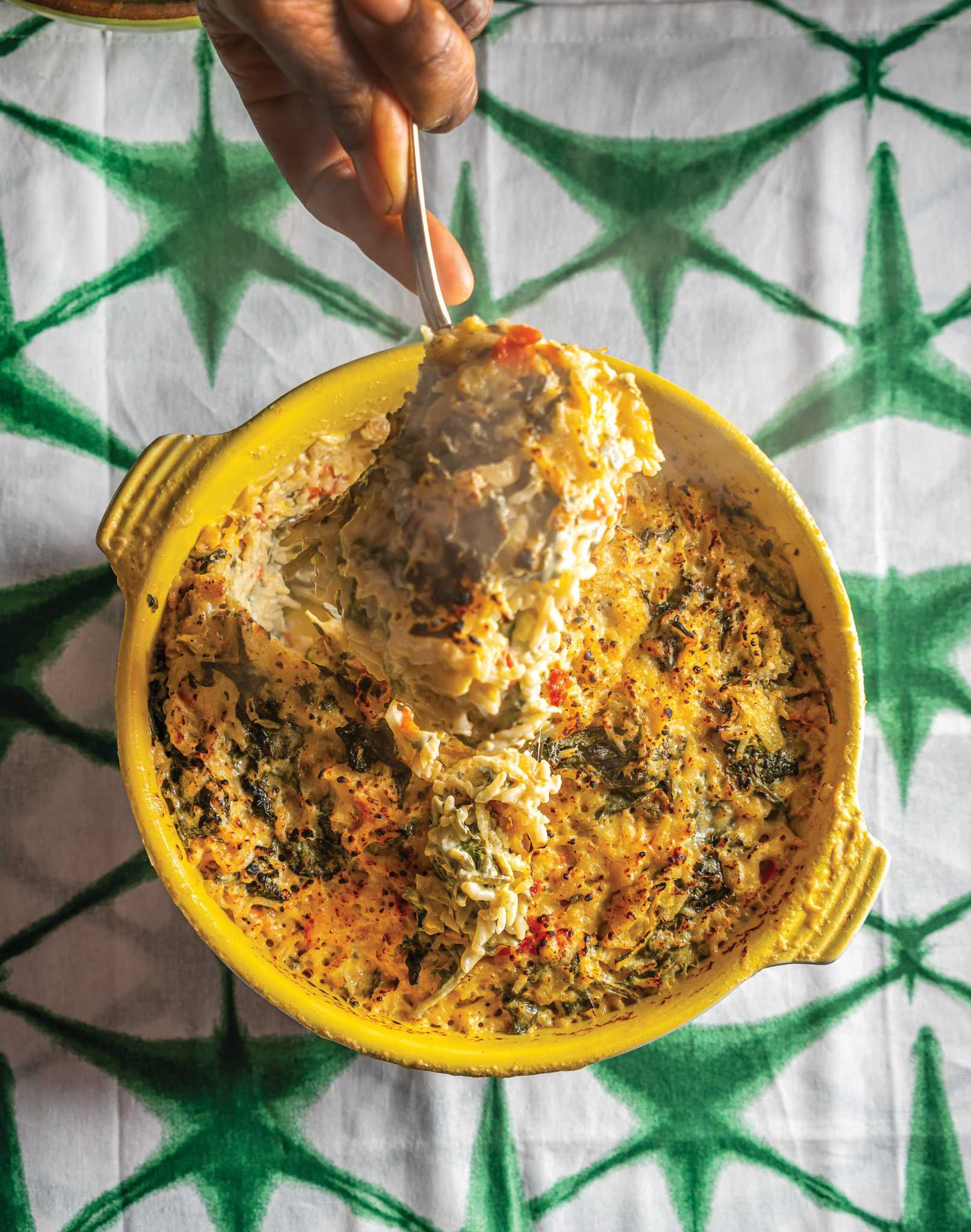 Recipe: Grandma Lue's Spinach Rice