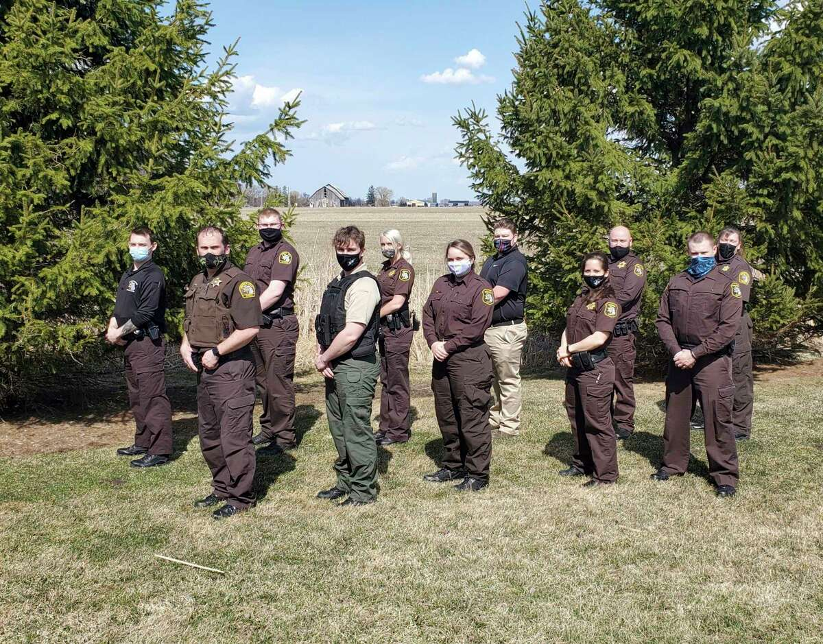 Graduates of West Shore Community College's Corrections Academy pose for a photo. (Courtesy photo)