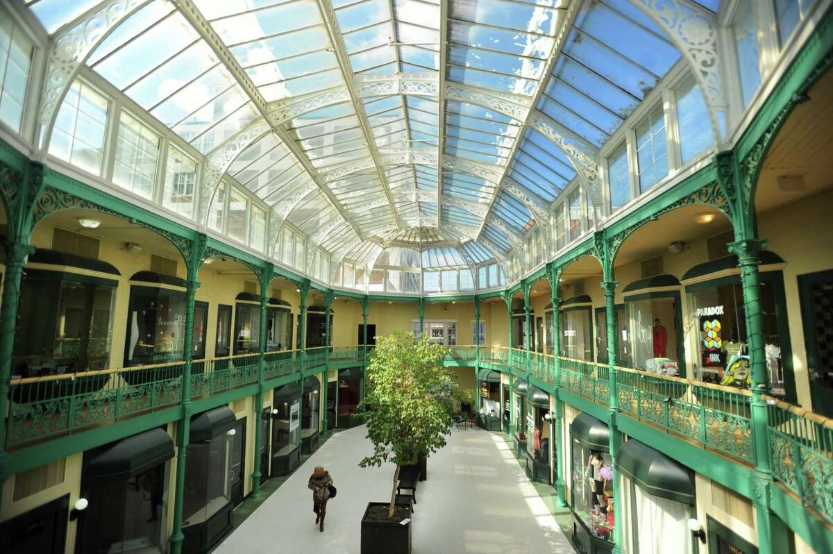 The Arcade Mall at 1001 Main Street in downtown Bridgeport, Conn. on Thursday, March 16, 2017.