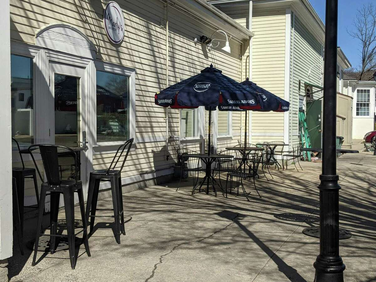 Marly's Bar and Bistro in Wilton said that its outdoor dining capabilities stimulated business in 2020 and it hopes to continue this year without any hiccups.
