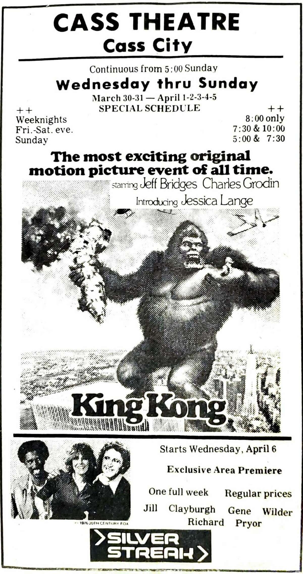 King Kong is back on the big screen this year as well.