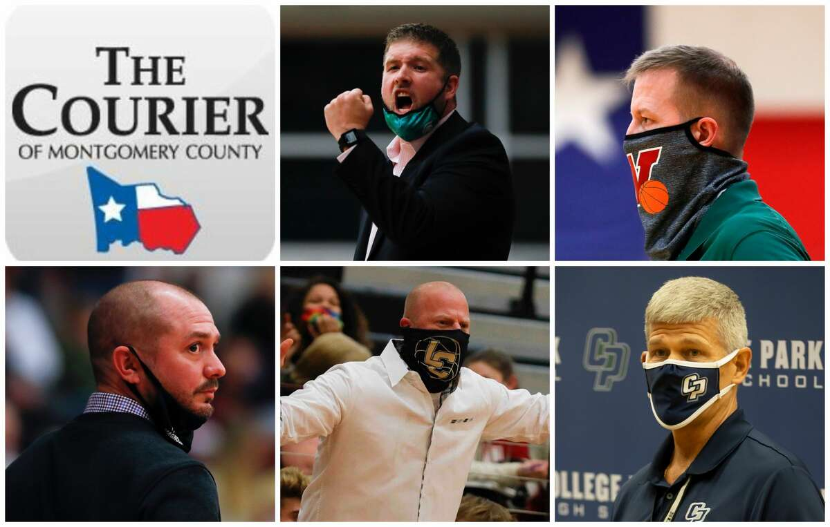 Tanner Field, Dale Reed, Derek Cain, Shannon Spencer and Clifton McNeely are The Courier's nominees for Coach of the Year.