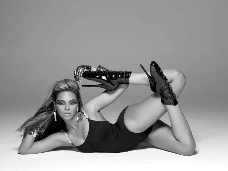 "In this publicity image released by Music World Entertainment/Columbia Records, Beyonce Knowles is shown during the filming of her music video ""Single Ladies (Put A Ring on It)."" (AP Photo/Music World Entertainment/Columbia Records, Peter Lindberg) Photo: Peter Lindberg"