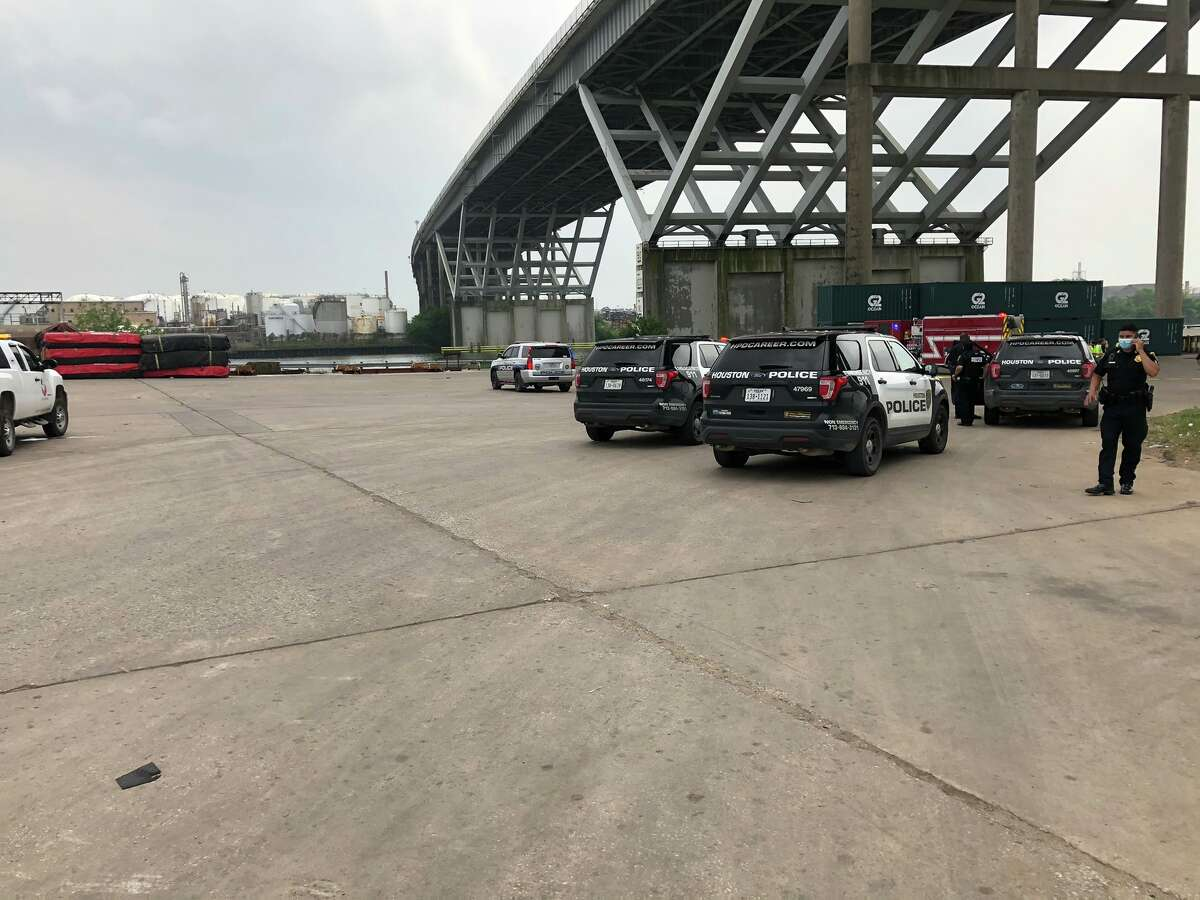 A man died Tuesday after falling from the Houston Ship Channel bridge on Loop 610, police said.