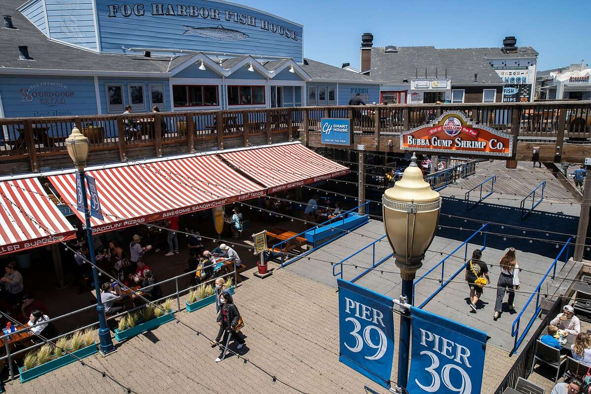 """Pier 39, where a woman was attacked with what police called some sort of """"tool"""" in San Francisco last year. George Kennedy was acquitted of the crime Tuesday."""