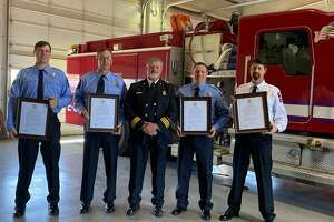 Members of the Plainview Fire Department was presented with a Letter of Commendation for actions taken during a callout on Feb. 10.
