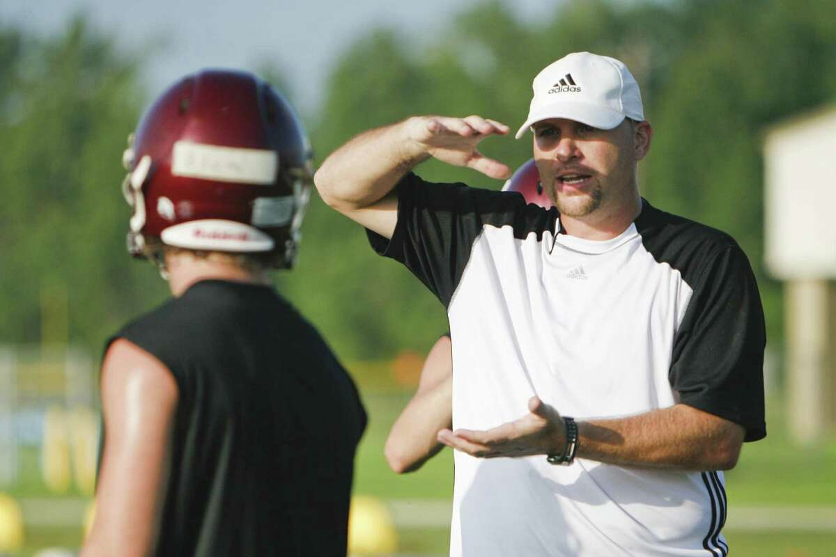 New Klein Oak football coach Brandon Carpenter has six seasons of head-coaching experience at his alma mater Tarkington.