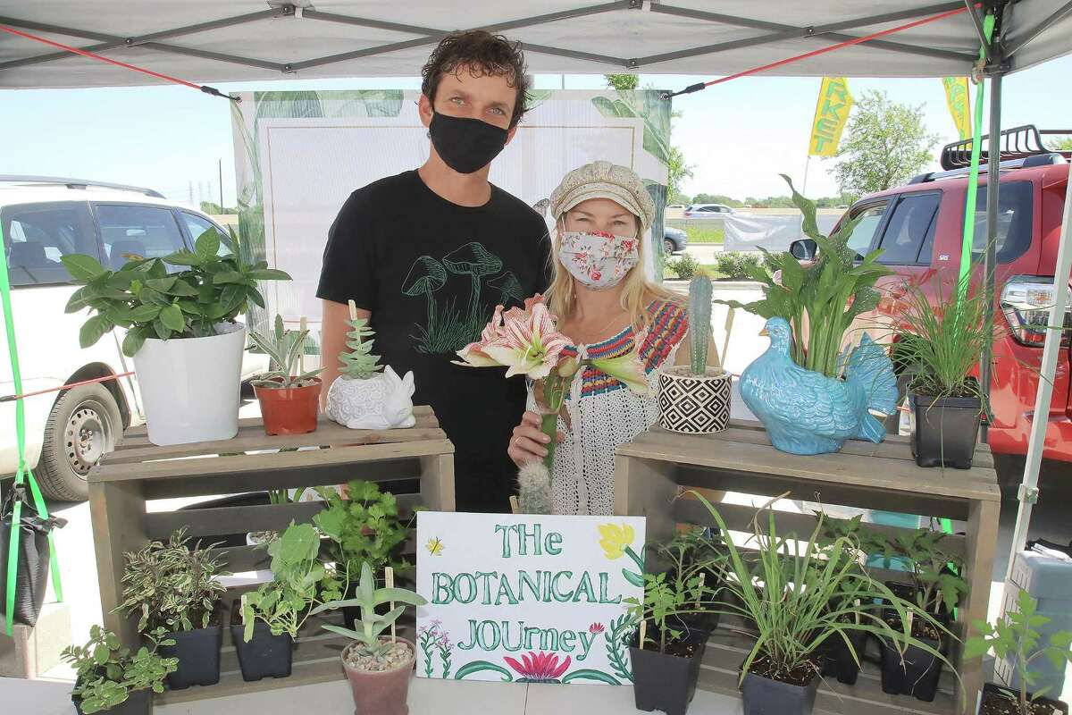 Cody Jones and Jennifer Trandell of The Botanical Journey lost most of the plants they had in February to the winter storm.