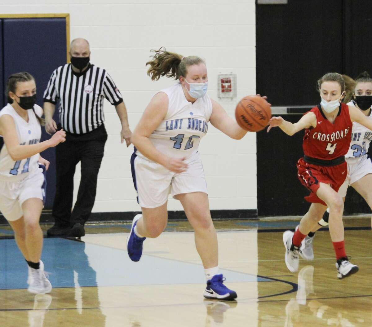 The young Brethren girls basketball team went 5-7 in the regular season before bowing out of the district tournament in the quarterfinal round.