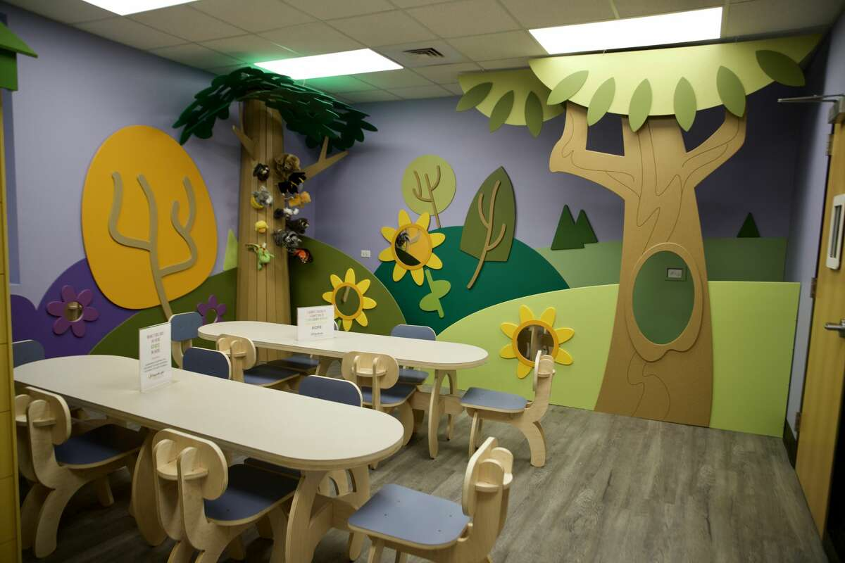 Rays of Hope Children's Grief Centre, a community outreach of Hospice of Midland, allowed the public to tour its newly renovated building this past weekend.