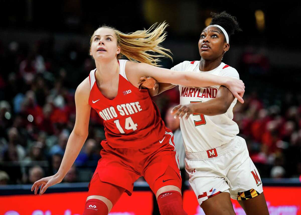 Ohio State forward Dorka Juhasz, announced she is transferring to UConn on Monday.