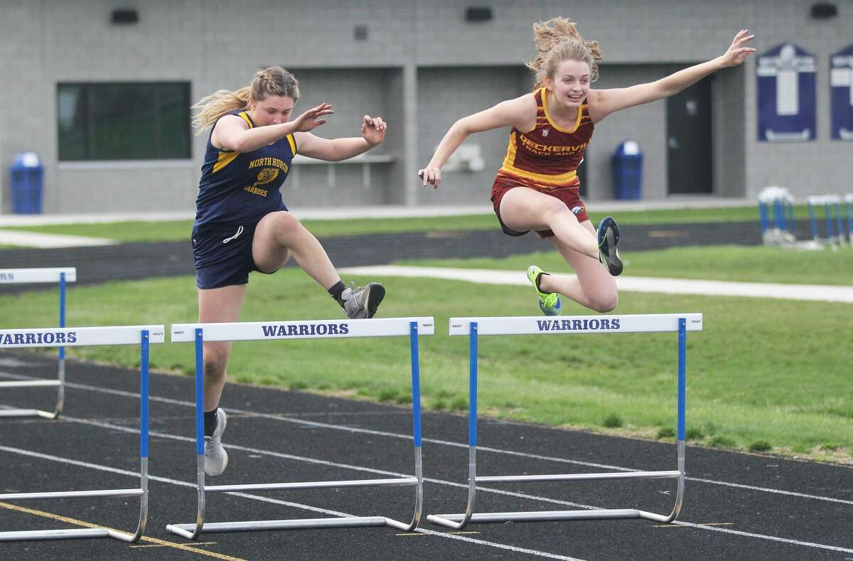 The Deckerville, Peck, Carsonville-Port Sanilac and North Huron track and field teams competed at a five-team event in Kinde on April 9.
