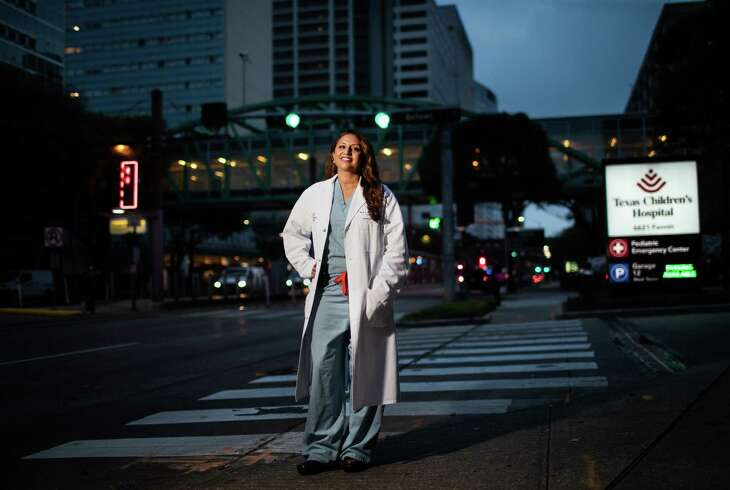 Dr. Bindi Naik-Mathuria, a pediatric surgeon specializing in trauma and oncology. Naik-Mathuria is also the trauma medical director at Texas Children's Hospital. She has received a grant from the CDC to study gun violence like it's a disease. Wednesday, March 31, 2021, in Houston.