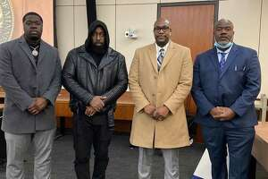 Trae the Truth stands with the family of George Floyd during the ongoing trial of Derek Chauvin.