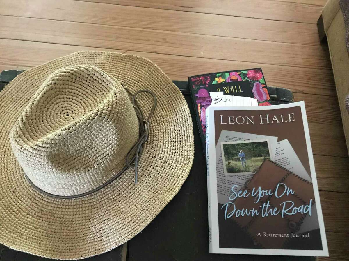 """Leon Hale's final book, """"See You On Down the Road,"""" was published earlier this year."""