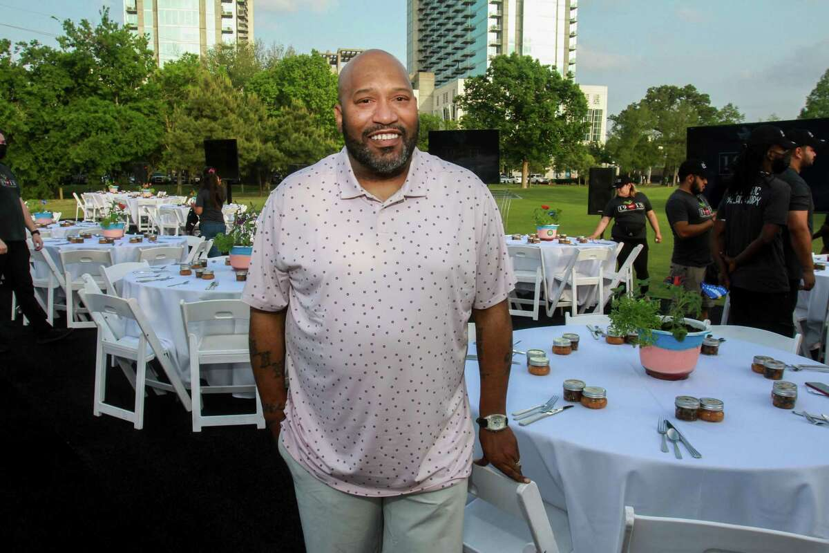 Bun B at the Lucille's 1913 inaugural golf tournament and dinner at Hermann Park Golf Course in Houston on April 12, 2021.