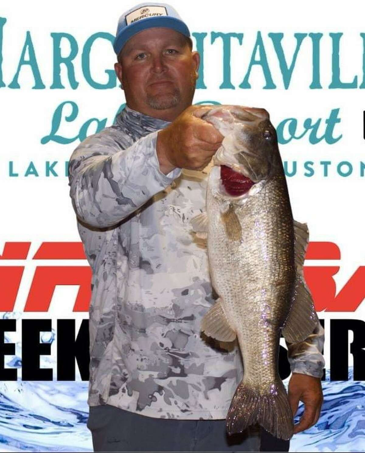 Tommy Baker came in second place in the CONROEBASS Thursday Big Bass Tournament with a weight of 6.68 pounds.