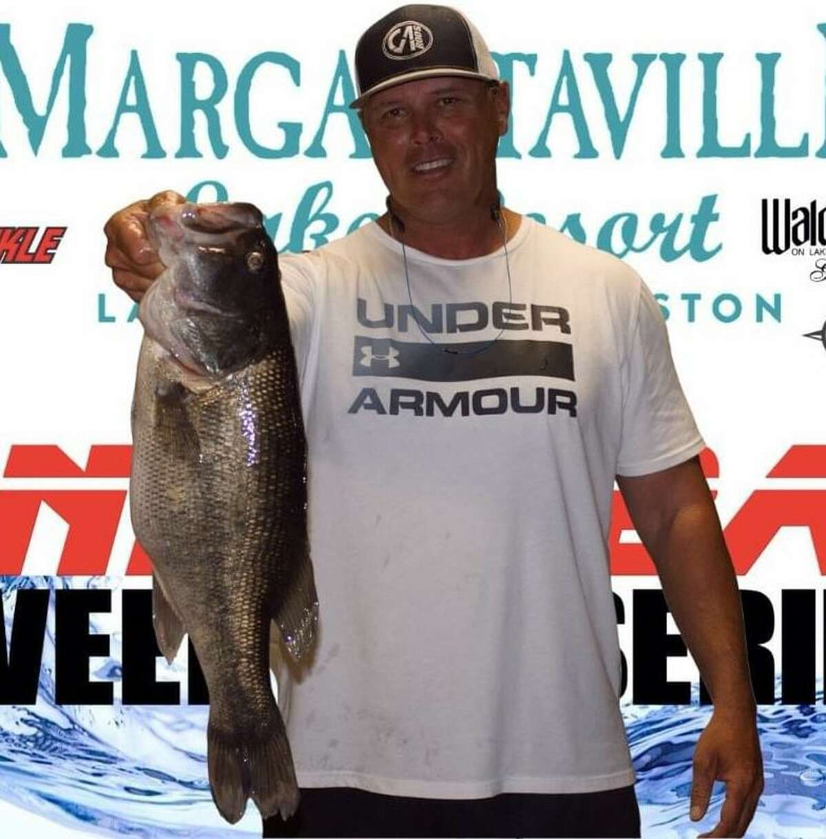 Ronnie Wagner came in third place in the CONROEBASS Thursday Big Bass Tournament with a weight of 6.22 pounds.