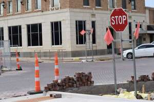 Work on the downtown StreetScape project is expected to wrap in September.