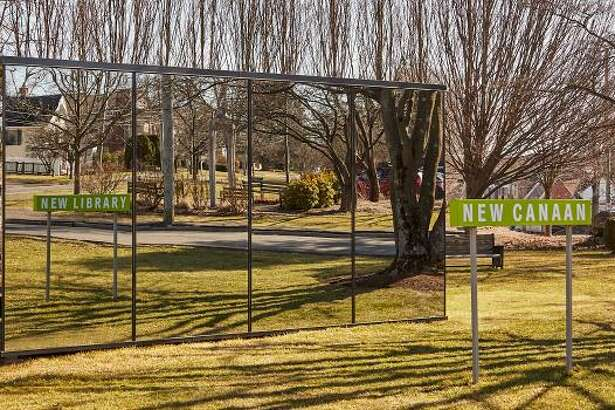The New Canaan Library has announced the launch of a national online auction of the Mirror House, the modern structure that has been featured on the library's grounds at the corner of Maple Street, and South Avenue in New Canaan since fall 2020.